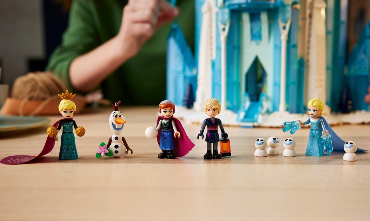 最大乐高®冰雪奇缘城堡,全新冰雪城堡正式上市!