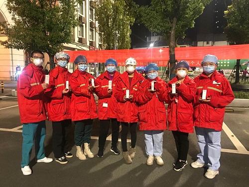 关爱抗疫医护,优色林共捐价值775万产品缓解皮肤损伤.